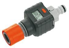 Gardena Digital Electronic Water Smart Flow Meter for Garden Hose Watering -8188