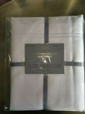 JOHN LEWIS 1000 THREAD COUNT EGYPTIAN COTTON FLAT SHEET DOUBLE £145