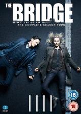 The Bridge: The Complete Season Four DVD (2018) Sofia Helin cert 15 3 discs