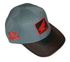 Powertex Honda Blackout Cap / Hat - Ride Red