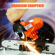 12V 85W 4500RPM Bar Mounted Electric Chainsaw Chain Saw Blade Grinder   New