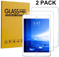 2 PACK For Apple iPad Pro 11 inch 2018 Tempered GLASS Screen Protector