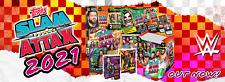 TOPPS WWE SLAM ATTAX 2021 TAKER, HEROES, LOGOS, LEGENDS, BREAKOUT, BOOSTERS...