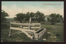 Postcard GRAND PRE N.S. CANADA The Old Well 1907?