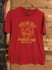 Nellie Bly Amusement Park Brooklyn NY New York Large L adult t-shirt red Vintage