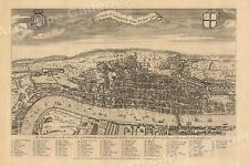 1560's A View of London Historic Classic Map - 24x36