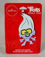 2020 Hallmark Walmart Exclusive Trolls World Tour TINY DIAMOND Xmas Ornament NEW