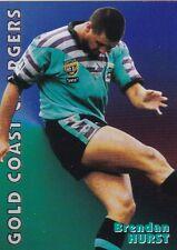 1997 Fatty Fun Set Rugby League Card #9 Brendan Hurst GoldCoast