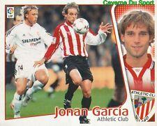 JONAN GARCIA ESPANA ATHLETIC CLUB STICKER LIGA 2004-2005 PANINI