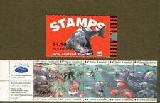 New Zealand  SG SB65  1993 Marine Life Booklet