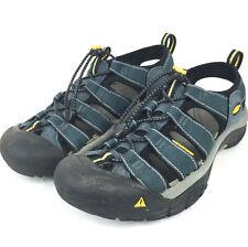 Keen Mens 7.5/EU 40 Dark Navy Blue 'Newport H2' Waterproof Outdoor Water Sandals