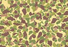 VINYL STICKER 1/6 scale -US WW2 Jungle Camo-