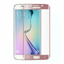Samsung Galaxy S7 Edge Full Curved TPU Ultra Clear Screen Protector Rose Gold