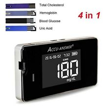 Accu-Answer iSaw Multi-Monitoring System- Glucose/Cholesterol/Uric Acid/Hb Meter