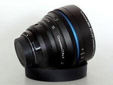Customized cine lens sigma art 35mm f1.4 EF for Canon 5D BMCC URSA SONY A7S
