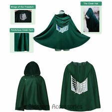 Cotton Blend Attack on Titan Unisex Costumes