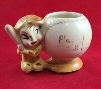 Vintage Royal Copley Play Ball Baseball Planter