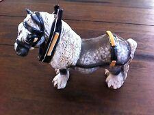 "Vintage Cheval Ceramics Draft Horse ""Gentle Jim"""