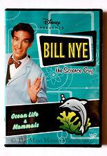 Bill Nye Science Guy Underwater Ecosystems Ocean Life & Mammals Educational DVD