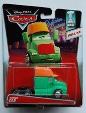Disney Pixar Cars CIRCUS CAB  New 2015 DELUXE SUPER CHASE / BENT CARD