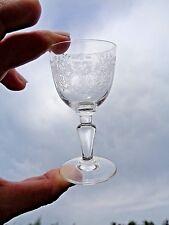 BACCARAT TREFLE SHOT GLASS VERRE CAVE A LIQUEUR CRISTAL GRAVÉ 9536 ART NOUVEAU