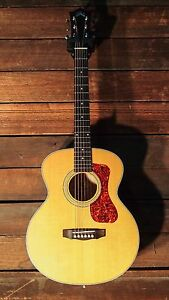Guild Jumbo Junior Maple Acoustic Electric Guitar w/ Free Gigbag *BRAND NEW*