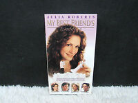 1997 My Best Friend's Wedding Starring Julia Roberts, Tristar Pictures VHS Tape