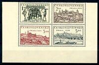 Tschechoslowakei 4er Block Eckrand MiNr. 630-33 postfrisch MNH (C893