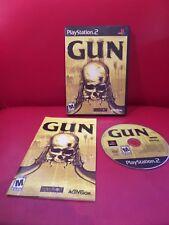 Gun (Sony PlayStation 2, 2005) Excellent Black label