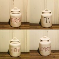 Rae Dunn Artisan Collection By Magenta Farmhouse Small Baby Ceramic Canister 6""