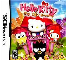 Hello Kitty: Big City Dreams Zoo Games  (Nintendo DS) Lite Dsi xl 2ds 3ds xl