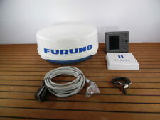 """Furuno Navnet Cmap VX2 7"""" 1734C/NT 4KW 24"""" Dome Radar System + Cables - Tested!"""