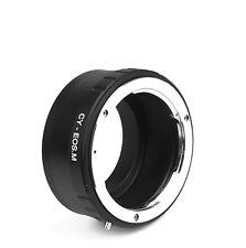 CY - EOS M Objektivadapter Adapter Contax CY Objektiv an Canon EOS-M Kamera EF-M