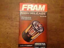 Fram High Mileage HM2870A Spin On Engine Oil Filter NIB