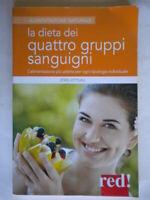 La dieta dei quattro gruppi sanguigni zittlau alimentazione diete salute nuovo