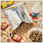 50 1 Gallon Genuine Mylar Bags 50 300cc Oxygen Absorbers Food Storage