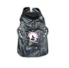 Doggles Biker Vest MOON HOWLERS Vinyl Dog Harness TEACUP