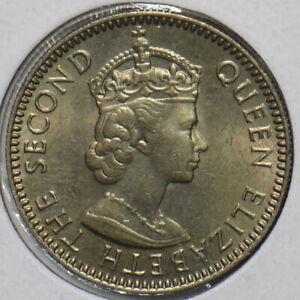 Seychelles 1960 25 Cents 297360 combine