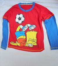 Bart Simpson Pijama Top - 9 años de edad