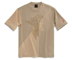 Nike Air Jordan Retro 6 Travis Scott Cactus Jack Desert Khaki Mashup T-Shirt XL