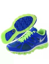 Nike Mens Air Max 2012 487982-403 Size 8 New In Box Blue/green/silver