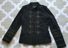 BlankNYC cotton canvas pockets military Jacket Women's SZ M