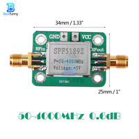 LNA 50-4000 MHz RF Low Noise Amplifier Signal Receiver SPF5189 NF 0.6dB