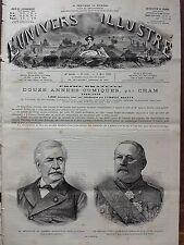 L'UNIVERS ILLUSTRE 1880 N 1311 FERDINAND DE LESSEPS  et  LE GENERAL JOSEPH VINOY