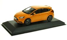 Minichamps 1.43 Scale FORD FOCUS ST In Burnt Yellow  Ford Dealer Edition .