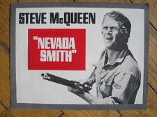NEVADA SMITH STEVE McQUEEN FRENCH PRESSBOOK 1966 BROCHURE FILM MOVIE ORIGINALE