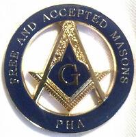 Freemason Masonic Prince Hall Affiliated Masonic Car Emblem