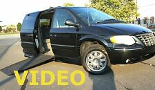 05 HANDICAP VAN TOWN COUNTRY CARAVAN WHEELCHAIR HAND CONTROLS POWER RAMP 49K mls