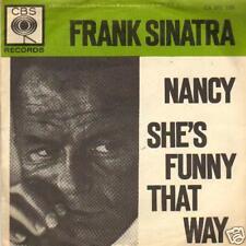 """JUKEBOX SINGLE 45 FRANK SINATRA NANCY - SHE'S FUNNY 7 """""""