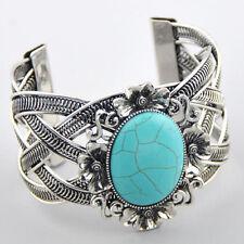 Turquoise Bracelet Sl65 Fashion flowers Tibetan